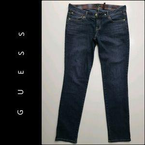 Guess Woman Eva Skinny Denim Blue Jeans Size 30